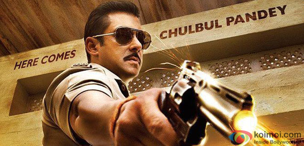Salman Khan from Dabangg 2 Movie