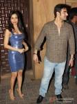 Malaika Arora Khan And Arbaaz Khan at Sunny and Anu Dewan's Christmas Party in Mumbai