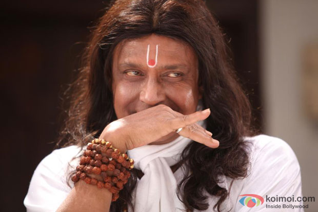 Mithun Chakraborty in a still from OMG Oh My God!