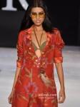 Model walk for Asmita Marwah's Show at India Resort Fashion Week 2012 Pic 2