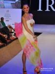 Model walks for Designer Babita Malkani's show at India Resort Fashion Week 2012 Pic 5