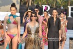 Model walks for Designer Fatima Khan's show atIndia Resort Fashion Week 2012 Pic 5