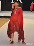 Model walks for Designer Shruti Sancheti's show at India Resort Fashion Week 2012 Pic 7