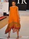 Model walks for Designer Shruti Sancheti's show at India Resort Fashion Week 2012 Pic 5