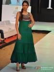 Model walks for Designer Shruti Sancheti's show at India Resort Fashion Week 2012 Pic 3