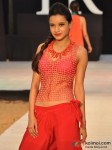 Model walks for Designer Shruti Sancheti's show at India Resort Fashion Week 2012 Pic 1