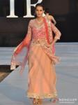 Model walks for Shouger Merchant Doshi at India Resort Fashion Week 2012 Pic 5