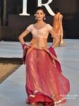 Model walks for Shouger Merchant Doshi at India Resort Fashion Week 2012 Pic 4