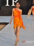 Model walks for Shouger Merchant Doshi at India Resort Fashion Week 2012 Pic 3