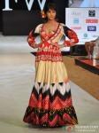 Model walks for Welspun at India Resort Fashion Week 2012 Pic 5