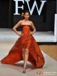 Model walks for Welspun at India Resort Fashion Week 2012 Pic 4