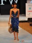 Model walks for Welspun at India Resort Fashion Week 2012 Pic 3