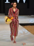 Model walks for Welspun at India Resort Fashion Week 2012 Pic 2
