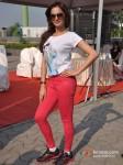 Monica Bedi at Godrej Eon Tour De India race Pic 2