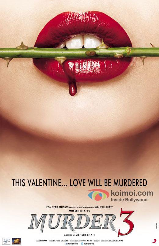 Murder 3 Movie First Look Poster
