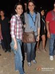 Namrata Dutt And Priya Dutt at Gun N Roses concert Pic 1