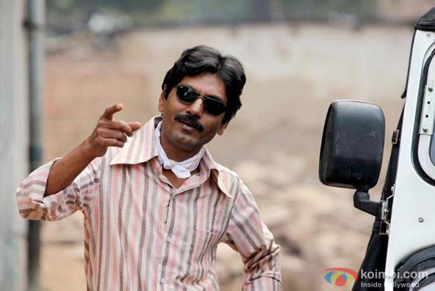Nawazuddin Siddiqui in a still from Gangs of Wasseypur II Movie