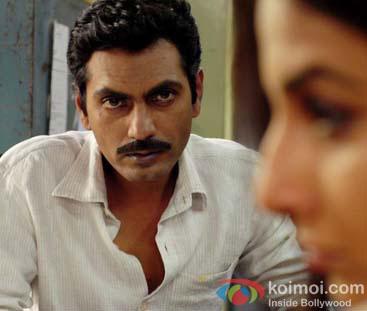 Nawazuddin Siddiqui in a still from Kahaani Movie