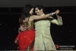 Nisha Rawal And Karan Mehra At Nach Baliye New Season Launch