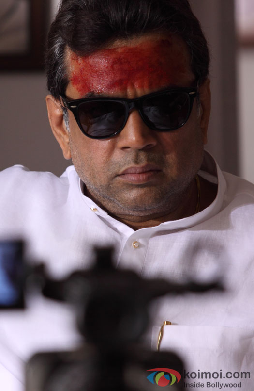 Paresh Rawal's dreaded look in Rann Movie