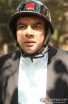 Paresh Rawal wears a helmet and all set to ride a bike in OMG Oh My God! Movie