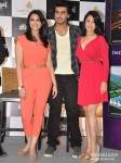 Parineeti Chopra, Arjun Kapoor And Anjana Sukhani at Aamby Valley Glitterati 2013 Press Meet Pic 1