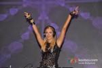 Paris Hilton plays the perfect DJ at India Resort Fashion Week 2012 Pic 9