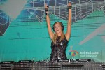 Paris Hilton plays the perfect DJ at India Resort Fashion Week 2012 Pic 8