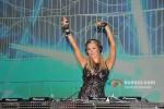 Paris Hilton plays the perfect DJ at India Resort Fashion Week 2012 Pic 7