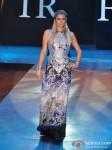 Paris Hilton walks for Shane & Falguni at India Resort Fashion Week 2012 Pic 1