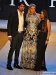 Paris Hilton walks for Shane & Falguni at India Resort Fashion Week 2012 Pic 6