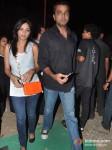Pooja Shetty And Deora Milind Deora at Gun N Roses concert