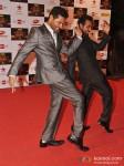 Prabhu Dheva And Remo D'souza walk the Red Carpet of Big Star Awards