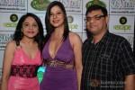 Pretti Jaiin, Sambhavna Seth and Chand Seth at her birthday party celebration in Mumbai