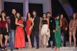 Rahul Mahajan, Dimpy Mahajan, Sargun Mehta, Ravi Dubey, Jaysheel Dhami, Suhasi Goradia, Shefali Zariwala And Parag Tyagi At Nach Baliye New Season Launch