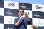 Ritesh Sidhwani at Aamby Valley Skydiving event