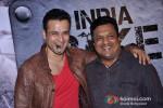Rohit Roy And Sanjay Gupta At India Bike Week Bash
