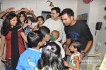 Rohit Sharma meets Cancer Patients Pic 4