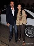 Sanjay Dutt And Manyata Dutt Attend Bunty Walia's Wedding Reception Bash Pic 3
