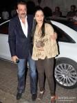 Sanjay Dutt And Manyata Dutt Attend Bunty Walia's Wedding Reception Bash Pic 2