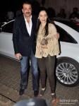 Sanjay Dutt And Manyata Dutt Attend Bunty Walia's Wedding Reception Bash Pic 1
