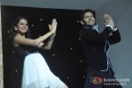 Sargun Mehta And Ravi Dubey At Nach Baliye New Season Launch