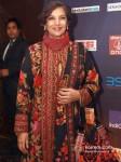 Bollywood actress Shabana Azmi at the CNN-IBN Indian of the Year 2012 awards in Delhi