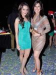 Shazahn Padamsee And Sophia Premjee at Raell Padamsee's Christmas bash Pic 2