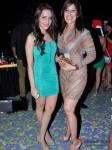 Shazahn Padamsee And Sophia Premjee at Raell Padamsee's Christmas bash Pic 1