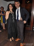 Shefali and Arjun Khanna at Ensemble on the 25th anniversary of India's first multi designer store in Mumbai