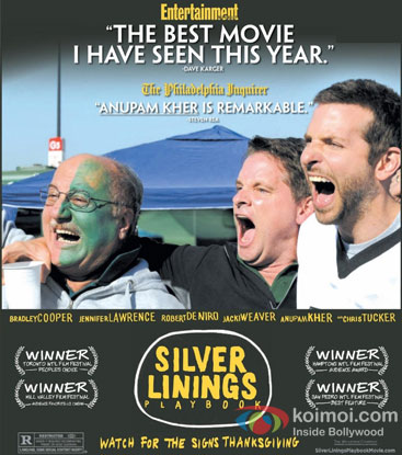 Silver Lining's Playbook Gets Actor Anupam Kher Nominated For SAG Awards