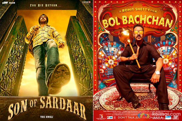 Son Of Sardaar and Bol Bachchan Movie Poster