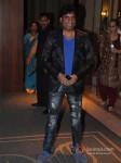 Stand up comedian Raju Srivastava at Wedding Reception of Classical Singer Ustad Ghulam Mustafa Khan`s son Rabbani and Namrata at Hotel JW Marriott in