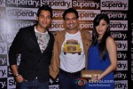 Sumit Vats And Sandeep Baswana at the launch of 'Superdry'